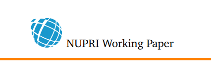 NUPRI Working Paper Review Process